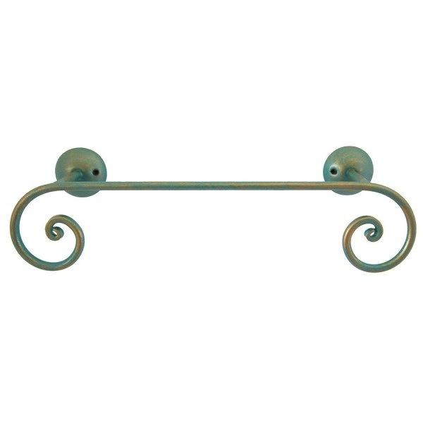 Relax - Asta portasciugamanii 50 cm verde