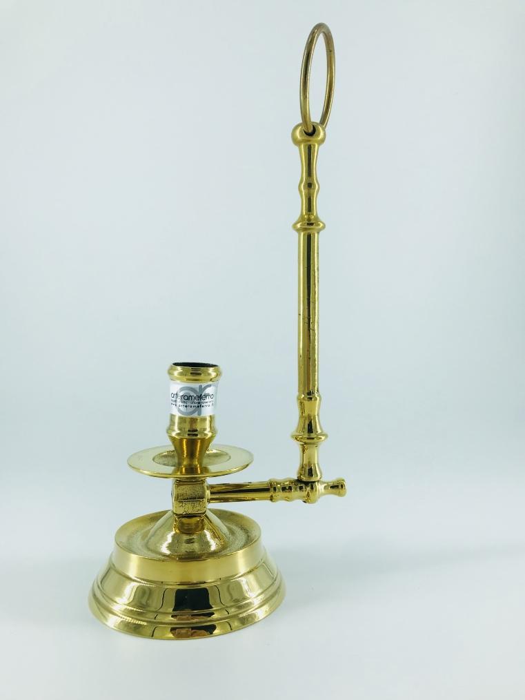 Riproduzione candelabro portacandela da poggiare o appendere spagnolo '900