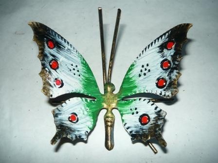 Farfalla in ferro da appendere o poggiare