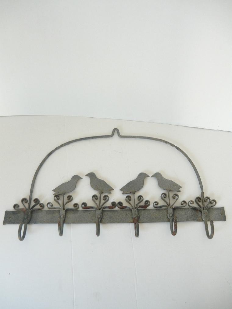 Appendino porta strofinacci da cucina in ferro