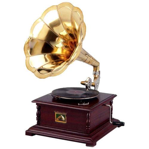 Grammofono quadrato His Master's Voice